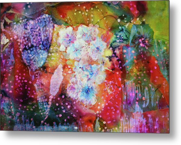 Fiesta Painting  Metal Print by Don Wright