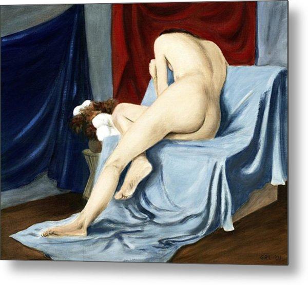 Fine Art Female Nude 2001 Metal Print
