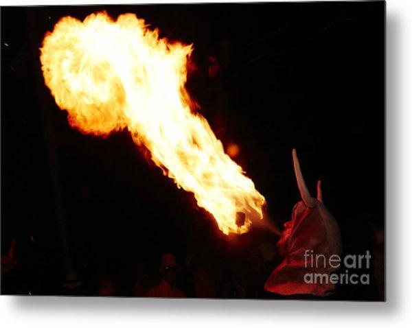 Fire Axe Metal Print