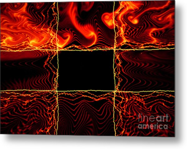 Fire Box Metal Print by Tashia Peterman