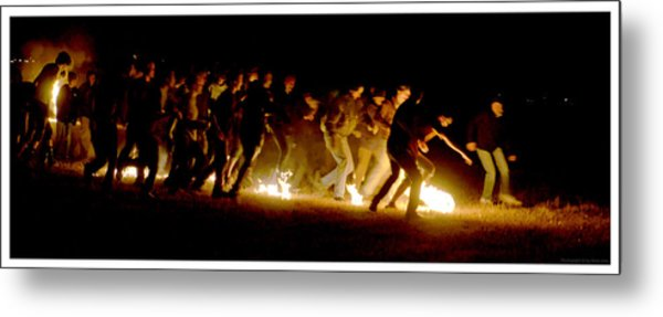 Fireball Game Metal Print by Mark Ivins