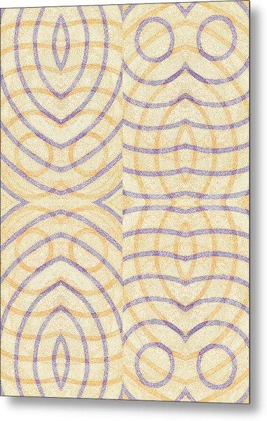 Firmamentals 0-3 Metal Print by William Burns