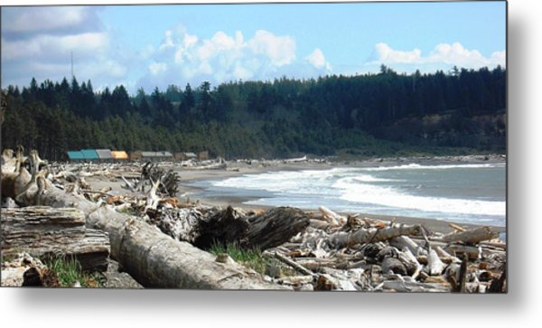 First Beach La Push Metal Print