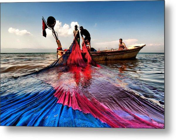 Fishing - 11 Metal Print