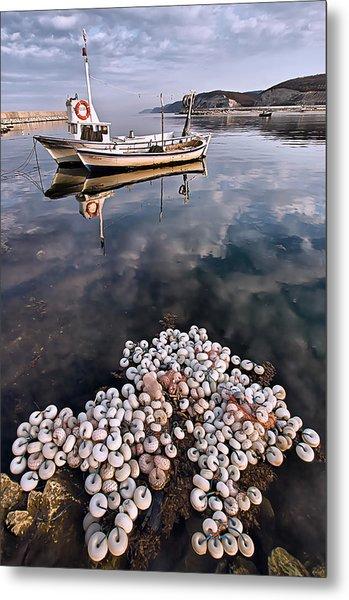 Fishing - 7 Metal Print