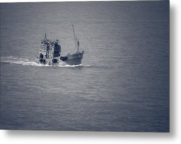 Fishing Vessel Metal Print