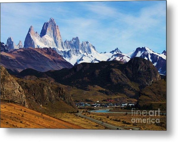 Fitz Roy Metal Print by Bernard MICHEL