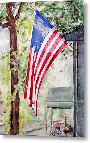 Flag Day Metal Print by Regina Ammerman
