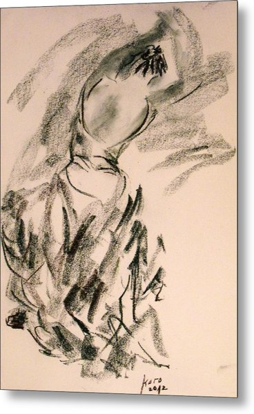 Flamenco Dancer 4 Metal Print
