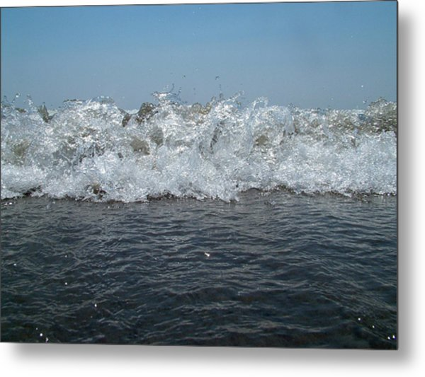 Flaming Waves Metal Print by Fredrik Ryden
