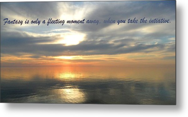 Fleeting Moments Metal Print