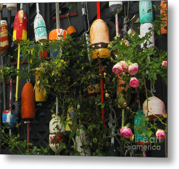 Floats And Roses Metal Print by Patricia Januszkiewicz