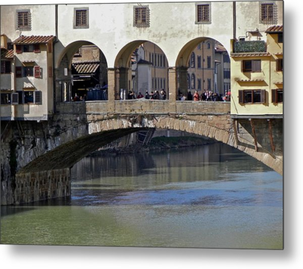 Florence II Metal Print by David Ritsema
