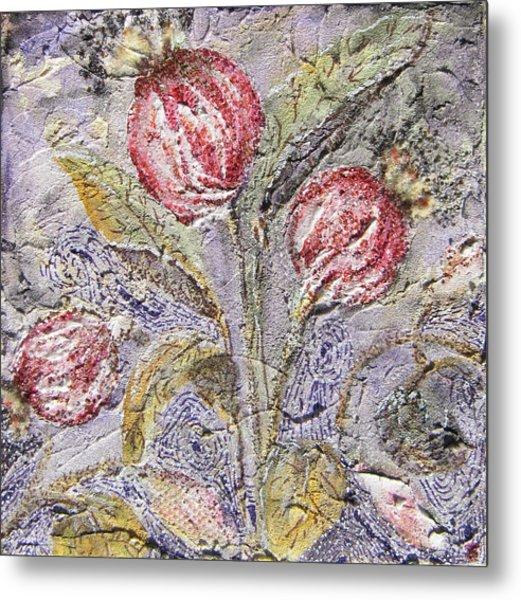 Flower Pods Metal Print