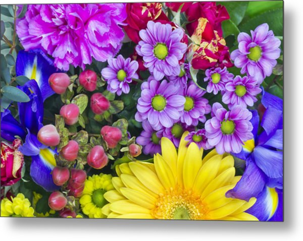 Flowers For The Spring Girlfriend Metal Print