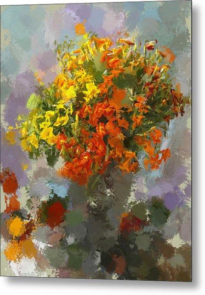 Flowers1 Metal Print by Yury Malkov