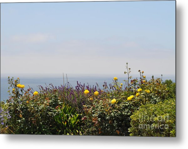 Flowerview Metal Print by Nicky Dou