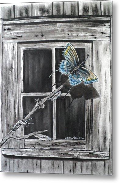 Fly Away Free Metal Print