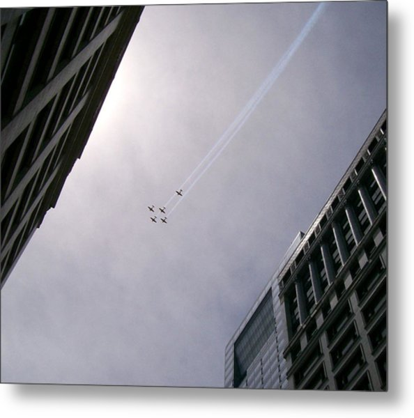 Fly High With Me Metal Print