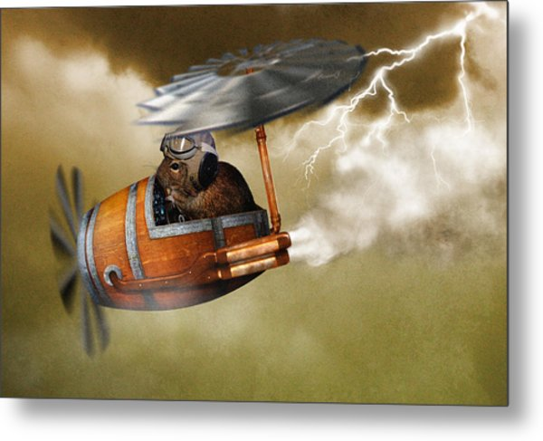 Flying Degoe Metal Print