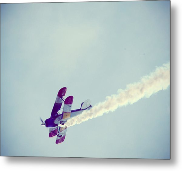 Flying High Metal Print by Amelia Matarazzo