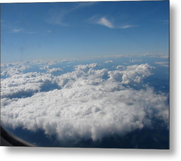 Flying High Metal Print by Kenneth Dow