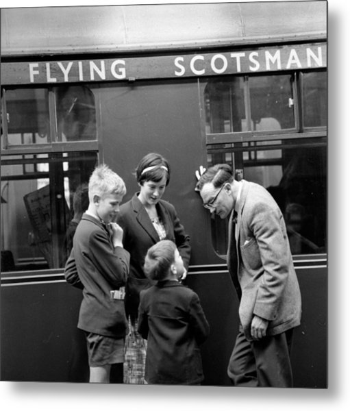 Flying Scotsman Metal Print by John Drysdale