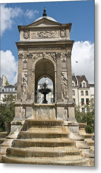 Fontaine Des Innocents II Metal Print by Fabrizio Ruggeri