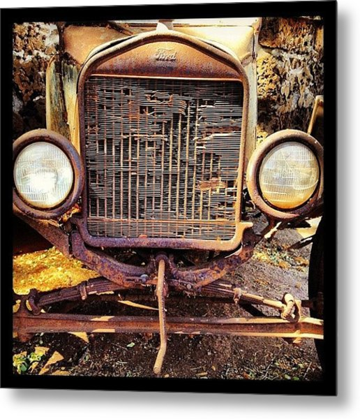 Ford Of Old Metal Print