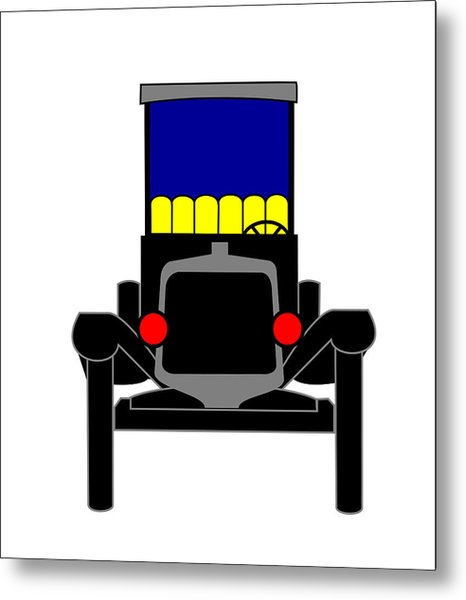 Ford T Coupe Metal Print by Asbjorn Lonvig