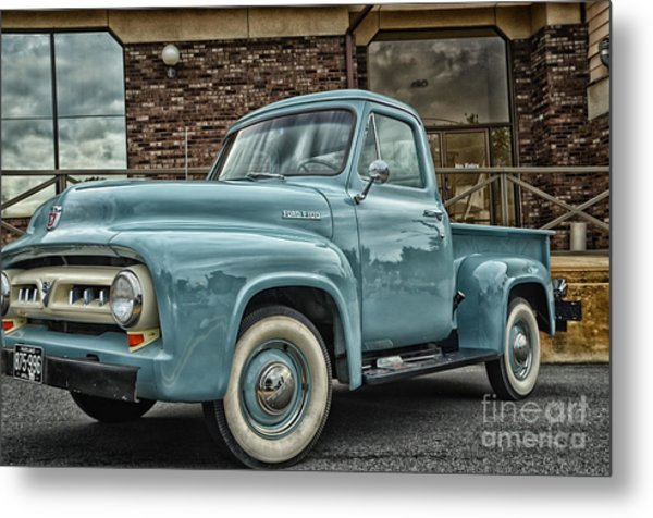 Ford Tough Metal Print