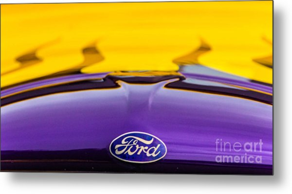 Ford Truck Metal Print by Ursula Lawrence