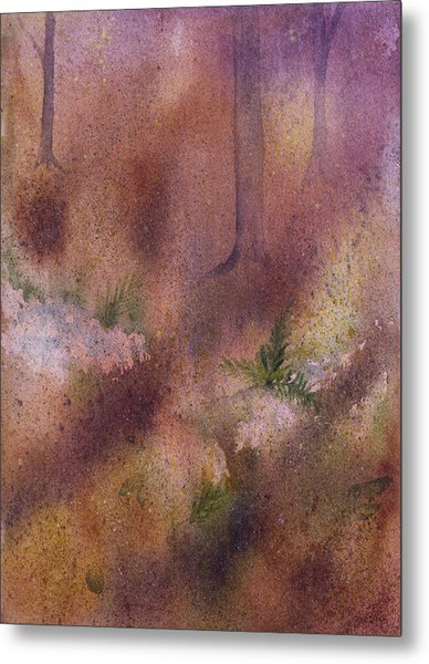 Forest Floor Metal Print by Debbie Homewood