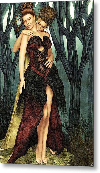 Forest Of Sighs Metal Print