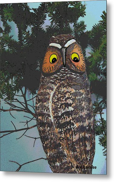 Forest Owl Metal Print