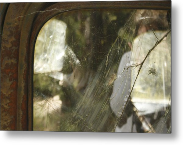 Forest Ranch Truck Metal Print