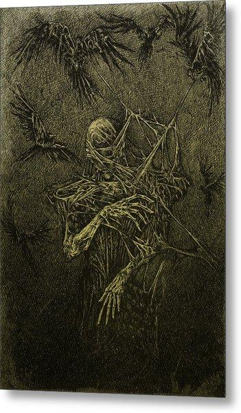 Forgotten Metal Print by Maciej Kamuda