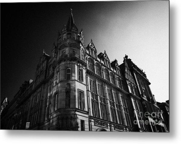 Former Prudential Assurance Building St Andrew Square Edinburgh Scotland Uk United Kingdom Metal Print by Joe Fox
