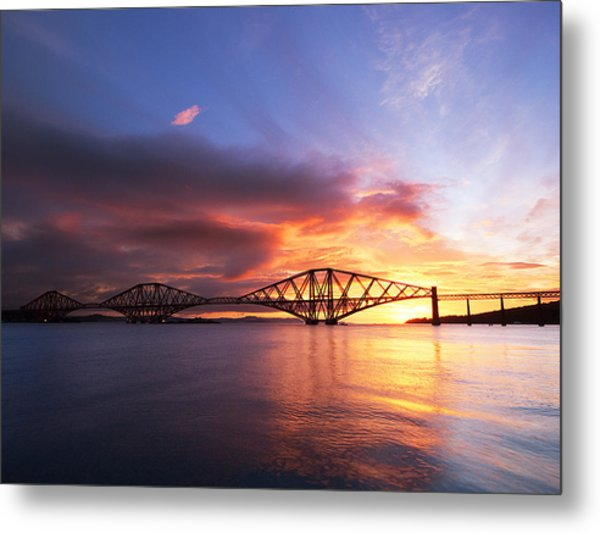 Forth Sunrise Metal Print by Keith Thorburn LRPS AFIAP CPAGB