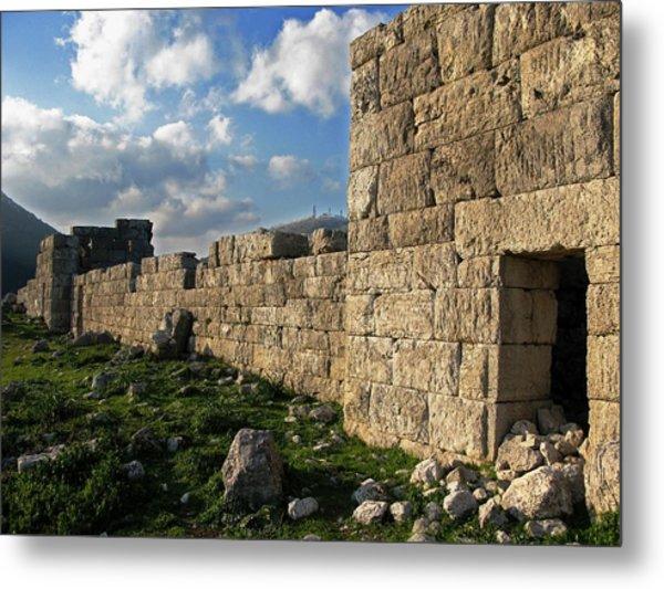 Fortified Citadel Metal Print by Andonis Katanos