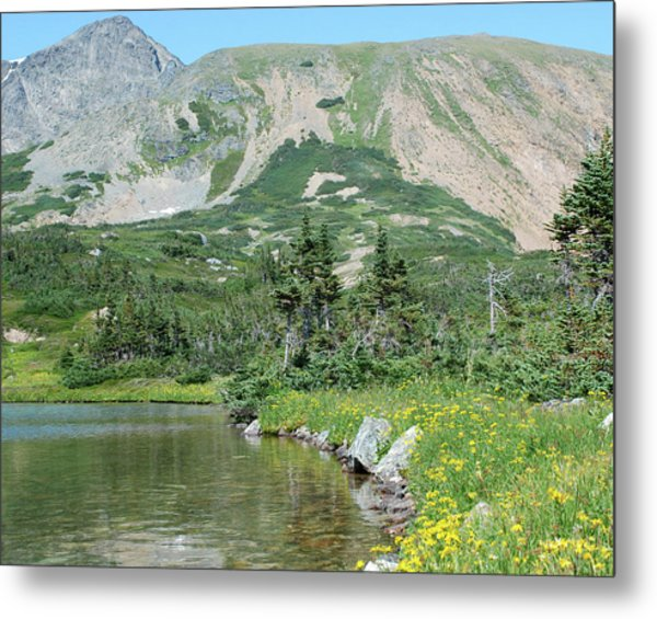 Four Lakes Metal Print