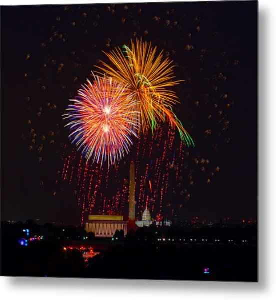 Fourth Of July Metal Print by David Hahn