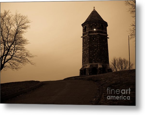Fox Hill Tower Metal Print