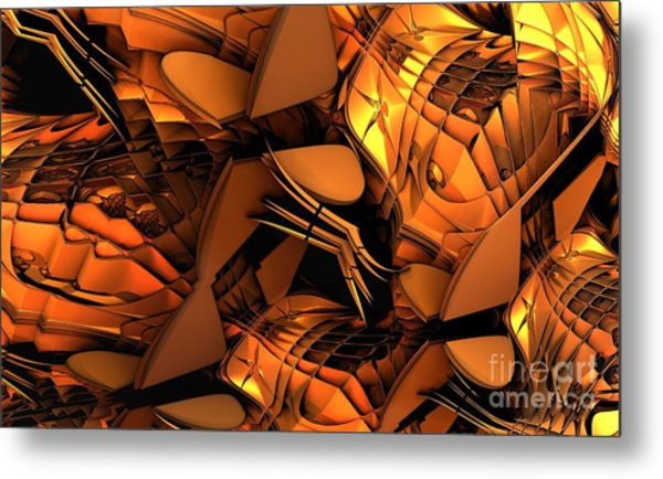 Fractal - Orchestra Metal Print by Bernard MICHEL
