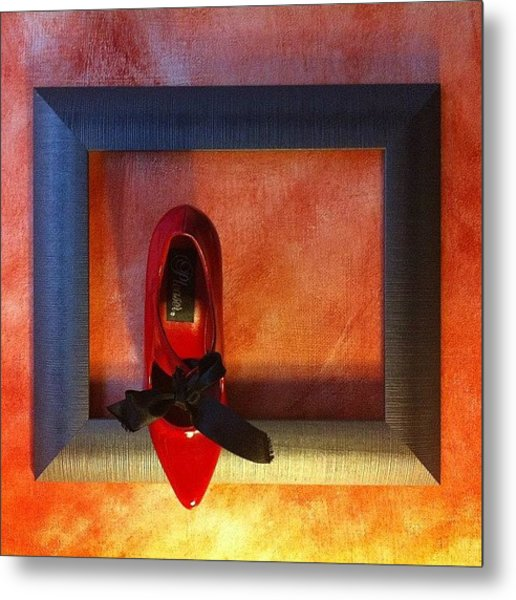 Framing Dorothy 2 Metal Print