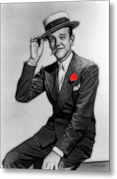 Fred Astaire Metal Print