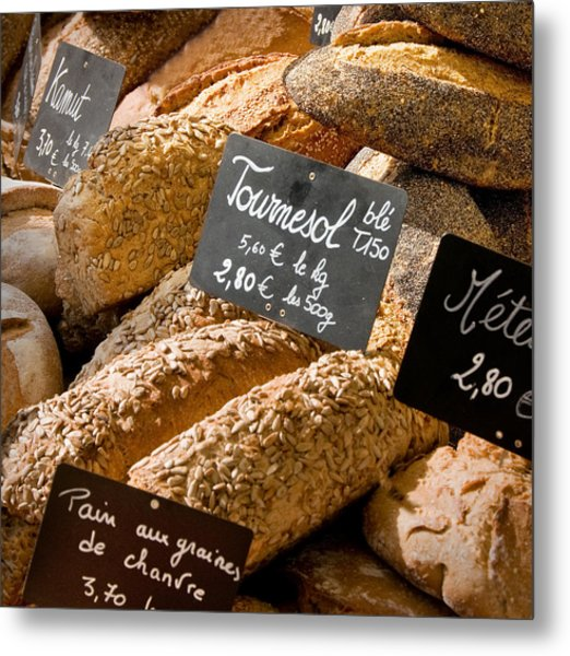 French Bread Of Provence Metal Print by Kent Sorensen
