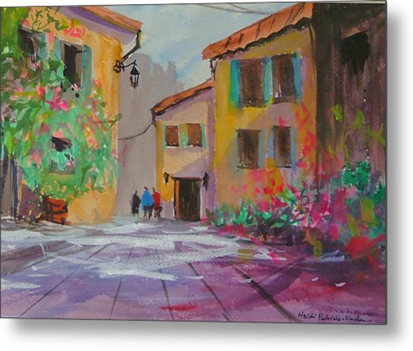 French Village Metal Print