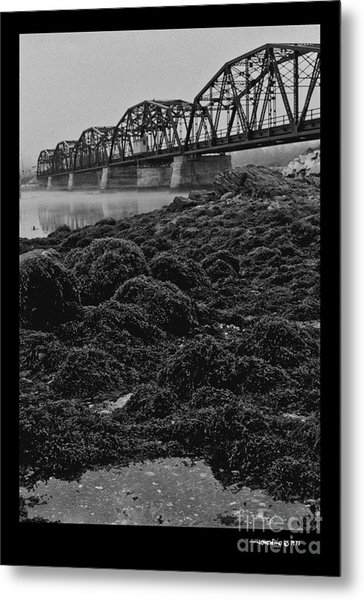 Frenchmans Bay Rr Bridge Metal Print
