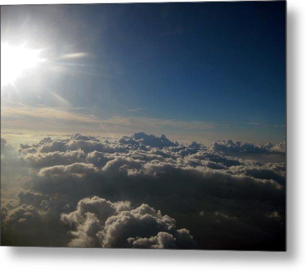 Friendly Skies Metal Print